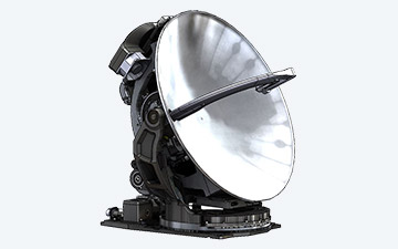 Product image of the G-18L dual Ku/Ka band parabolic reflector antenna