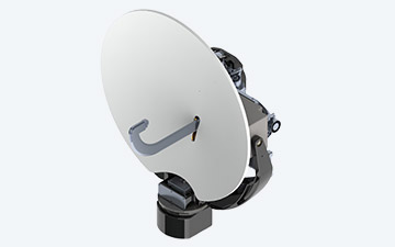 Product image of the G-30L dual Ku/Ka band parabolic reflector antenna
