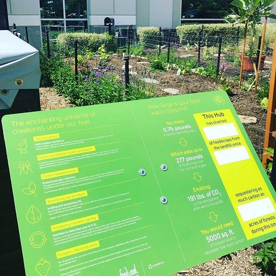 Garden as part of Corporate Sustainability at Viasat