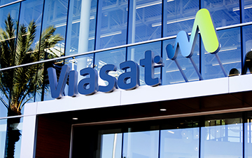 Building with Viasat logo
