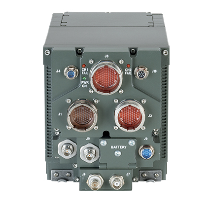 Front view of the small tactical terminal KOR-24A