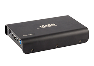 Product image of the Eclypt Freedom external hard drive for data at rest encryption