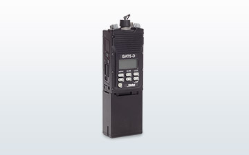 Product image of the BATS-D AN/PRC-161 handheld radio