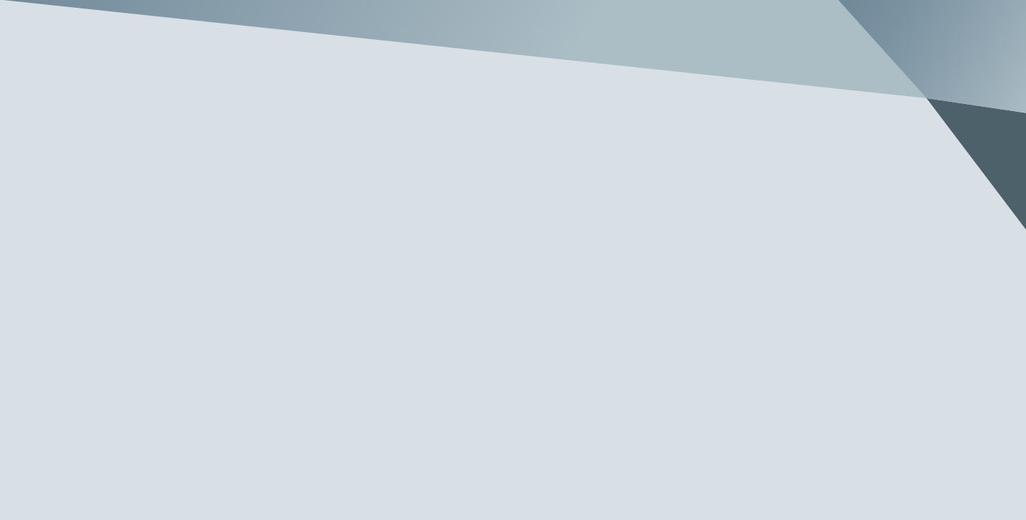 Light gray gradient background with angular features